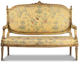 canap louis xvi louis xvi style carved and gilded antique settee sofa