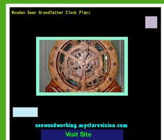 wooden gear clock plans 171336 woodworking plans and projects
