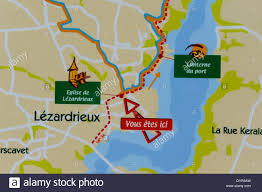 Map Of Brittany France by Map Of Lezardrieux Near Stock Photo Royalty Free Image 68739073