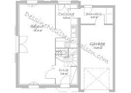 plan maison 80m2 3 chambres plans de maisons individuelles avec étage ou combles aménagés