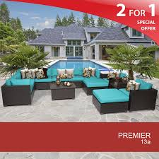 home design furnishings 13 outdoor wicker furniture set chair and sofa set