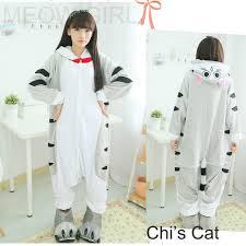 chi s sweet home chi cat pajamas anime onesie costume