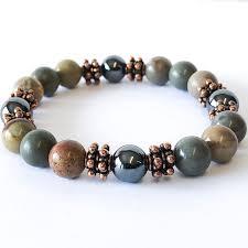 men jewelry bracelet images Silver leaf copper bracelet simple graces jewelry jpg