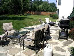 How To Make A Pea Gravel Patio I The Pea Gravel Between My Flagstone Ground Trades Xchange