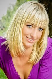 Bob Frisuren Blond Halblang by Blonder Langer Bob Mit Pony Langer Bob Mit Pony Langer Bob Und