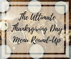 thanksgiving day menus the ultimate thanksgiving day menu up cutting board