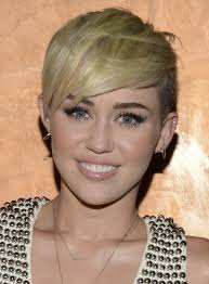 what is the name of miley cyrus haircut miley cyrus blonde pixie hairstyle razor haircuts popular haircuts