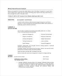 infantryman resume template 7 free word pdf document downloads