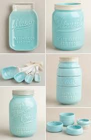 Retro Kitchen Canisters by Best 25 Blue Mason Jars Ideas On Pinterest Ball Mason Jars