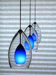 Cobalt Blue Mini Pendant Lights Cobalt Blue Mini Pendant Lights Fooru Me