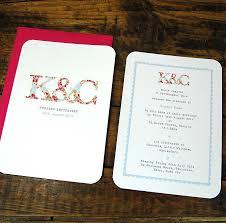 Monogram Wedding Invitations Chic Wedding Invitations Monogram Wedding Invitation By Ditsy With