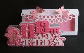 scalloped happy 13th birthday card photo by angela walker