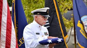 Flag Folding Meaning Farewell Comrade