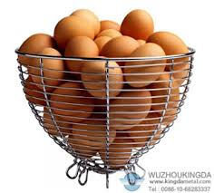 egg baskets metal mesh egg basket metal mesh egg basket supplier wuzhou kingda