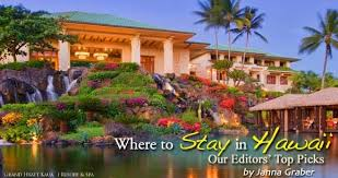 best places to stay in hawaii travel map
