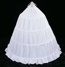 wedding dress hoop 125 diameter 40 white cotton wedding bridal petticoat 4