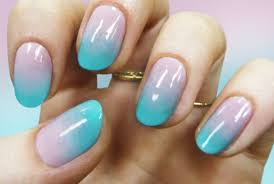 how to do ombre nail art designs for summer step by step tutorial