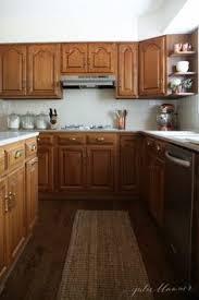 oak kitchen cabinets ideas 5 ideas update oak cabinets without a drop of paint apron front