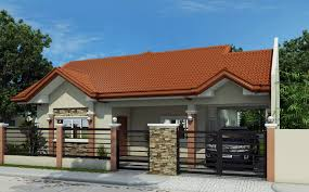 bungalow house design small bungalow house with free floor plan and interior design