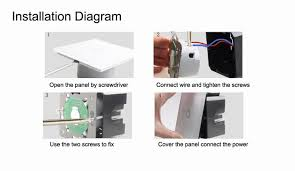 touch screen wall light switch wall light touch screen switch trweb for