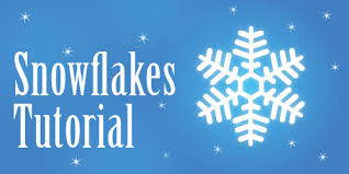 pattern drawing illustrator illustrator tutorial snowflakes illustrator tutorials tips