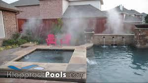 klapprodt pools fog system youtube