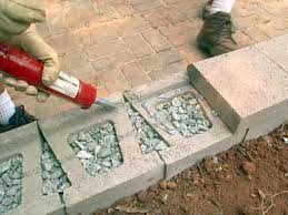 Building A Concrete Block House How To Build A Block Retaining Wall How Tos Diy