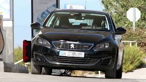 peugeot roadster peugeot 308 spied while hiding a facelift