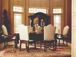 universal bolero 7pc dining set w upholstered chairs