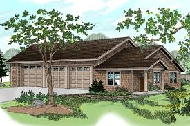Home Plans With Rv Garage by Craftsman House Plans Rv Garage W Living 20 042 Associated Designs