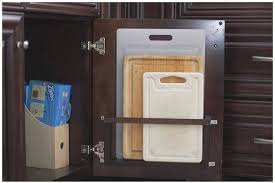 Kitchen Cabinet Doors Diy by Diy Vertical Behind The Cabinet Door Cutting Board Holder Hometalk