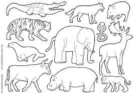 imagenes de animales carnivoros para imprimir animales herbívoros con dibujo imagui az dibujos para colorear