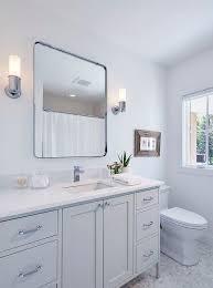 Polished Nickel Vanity Mirror Bathrooms Sconces In Mirror