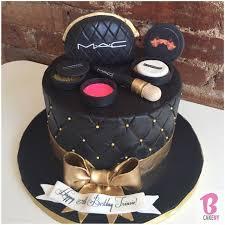kermit on makeup birthday cakesmakeup cake ideas birthdaysmac