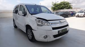citroen berlingo citroen berlingo vu 5d 2g combi 1 6 hdi sx multispace crashed