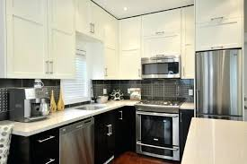Two Color Kitchen Cabinet Ideas Two Color Kitchen Cabinets Upsite Me