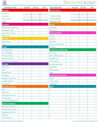 Downloadable Budget Spreadsheet Free Monthly Budget Template Monthly Budget Template Budget