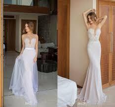 2016 julie vino unique lace wedding dresses with detachable skirt