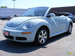 convertible volkswagen 2006 2006 aquarius blue volkswagen new beetle 2 5 convertible 17259856