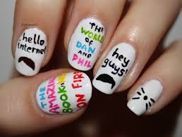 the amazing book is not on fire dan and phil nails