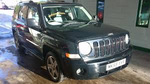 white jeep patriot 2008 used jeep patriot cars for sale motors co uk