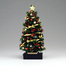 christmas tree with white lights and red bows mini led christmas tree powered miniature tree with powered