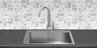 White Glass Metal MODERN BACKSPLASH TILE For Contemporary To - Modern backsplash