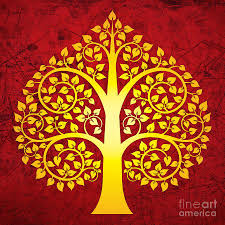 the bodhi tree or wisdom tree is a sacred symbol in buddhism for a
