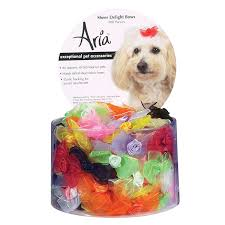 dog ribbon sheer delight bows for dogs 100 canisters
