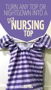 Work Clothes For Nursing Moms Diy Nursing Top Tutorial Moms And Crafters