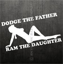 dodge cummins jokes dodge the ram the bumper sticker vinyl