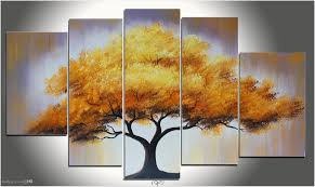 interior tree wall painting room decor for teenage kids