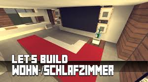 minecraft schlafzimmer minecraft möbel tutorial modernes wohn schlafzimmer haus