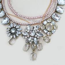 chunky pearl crystal necklace images Best chunky gold and pearl necklace products on wanelo jpg